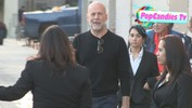 Bruce Willis departs Hollywood
