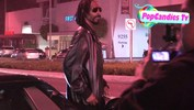Snoop Dogg helps out Homeless Man while meeting & encouraging him at Boa in West Hollywood