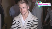 Derek Hough on DWTS Judge Len Goodman & Lending Money to Friends at Sayers in Hollywood