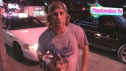 Urijah Faber & Hottie looking for right the Limo home at Bootsy Bellows in West Hollywood - April 16, 2013