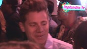 Jef Holm greets Sarah M Online at Bootsy Bellows in West Hollywood - April 16, 2013