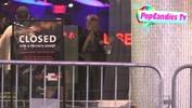 Nadeea Volianova miggles at Hard Rock Cafe in Hollywood - April 24, 2013