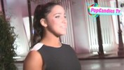 Aly Raisman on Trophy Safe Keeping while taking leave of DWTS 2013 Party in LA