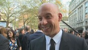 Fast and Furious 6 premiere: Vin Diesel admits his kids have him under the thumb