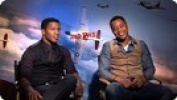 'Red Tails' Cuba Gooding Jr. and Nate Parker Interview HD