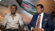 'Red Tails' Terrence Howard and David Oyelowo Interview HD