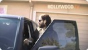 Russell Brand Departs West Hollywood's Lion Club