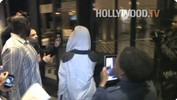 Rihanna arrives to Hotel Gansevoort Manhattan
