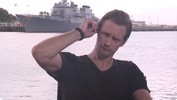 Alexander Skarsgard's 'Battleship' Interview