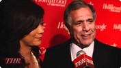 Les Moonves, Julie Chen At THR & Google White House Correspondents Weekend Party
