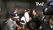 Lindsay Lohan At LAX -- From Happy to Mad in 10 Seconds