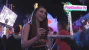 Sammi Hanratty greets fans at Universal City - March 30, 2013