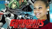 Zoe Saldana Is Gamora in Guardians of the Galaxy