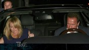 Arnold Schwarzenegger -- Family Dinner with New Girlfriend