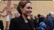 """Angelina Jolie talks about """"In the Land of Blood and Honey"""""""