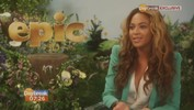 Beyonce interview: Singer on film EPIC, being a role-model and baby Blue Ivy Carter